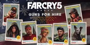 Far Cry 5'teki Müttefiklerimizi Yakından Tanıyalım