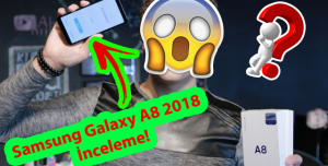 Samsung Galaxy A8 2018 İnceleme