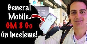 General Mobile GM 8 Go Ön inceleme - İlk 5.5 inç Android Go Telefon!
