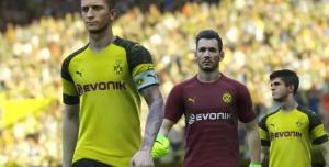 PES 2019'da Borussia Dortmund Yer Almayacak