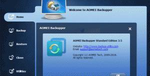 AOMEI Backupper Network