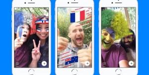 Facebook Messenger'a Dünya Kupası Güncellemesi Geldi