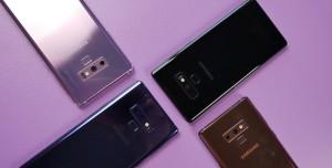 Samsung Galaxy Note 9 ve Note 8 Karşılaştırması