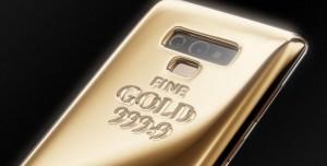 1 Kilo Altınla Kaplı Caviar Galaxy Note 9 Fiyatıyla Şok Ediyor