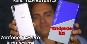 Asus Zenfone MAX Pro M1 kutu açılımı - TÜRKİYE'DE İLK!