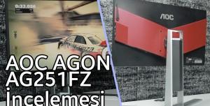 AOC AGON AG251FZ Monitör İnceleme