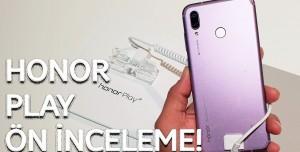 Oyunculara Özel Telefon! - Honor Play ön inceleme