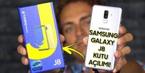 Samsung Galaxy J8 kutu açılımı - 2700 TL!