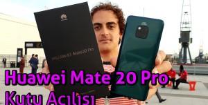 Huawei Mate 20 Pro Kutu Açılışı - Kutudan Trafo Çıktı!