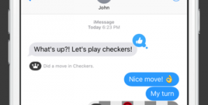 Checkers for iMessage