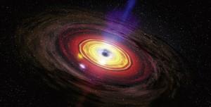 Galaksimizin Kalbinde Süper Kütleli Bir Kara Delik Keşfedildi