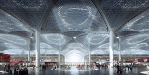 Dünyanın En Büyük LED Ekranı İstanbul Havalimanı'nda Kuruldu