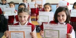 E Okul Veli Bilgilendirme Sistemi (VBS) Giriş ile Takdir Teşekkür Hesaplama