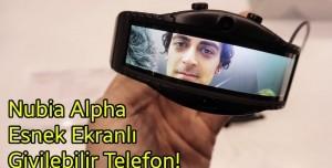 Giyilebilir Telefon Nubia A Elimizde!