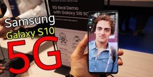 Samsung Galaxy S10 5G Ön İnceleme - TELEVİZYON GİBİ EKRANI VAR!