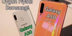 Samsung Galaxy A30, A50 Ön İnceleme - ALIŞILMAMIŞ TASARIM!