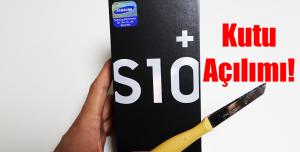 Samsung Galaxy S10 Plus Kutu Açılımı!