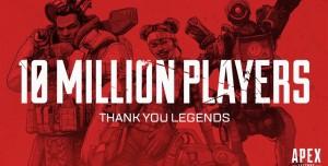 Apex Legends, 10 Milyon Oyuncuya Ulaştı