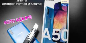Samsung Galaxy A50 Kutu Açılımı - Orta Seviyenin Yeni Kralı Mı?
