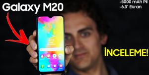 Samsung Galaxy M20 İnceleme - Bu Fiyata En İyisi Mi?