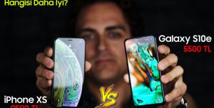 Samsung Galaxy S10e ve iPhone XS Karşılaştırma! - Şampiyon Kim?