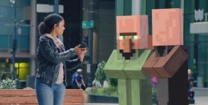 Minecraft AR (Artırılmış Gerçeklik) Oyunu Geliyor