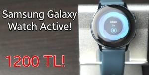 Samsung Galaxy Watch Active İnceleme - Uygun Fiyatlı Tercih!