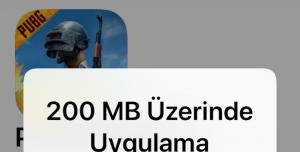 iPhone Hücresel Veri İndirme Sınırını Kaldırma (150 - 200 MB Üstü Oyunları İndirin!)