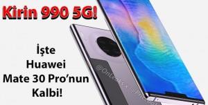 Huawei Mate 30 Pro'nun İşlemcisi Tanıtıldı! - Kirin 990 5G Neler Sunuyor?