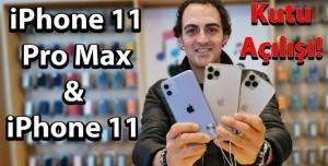 iPhone 11 & iPhone 11 Pro Max Kutu Açılımı
