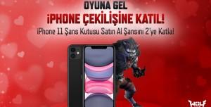 Wolfteam, iPhone 11 Kazandırıyor! Çekiliş Başladı