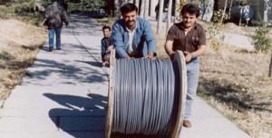 Türkiye'de İlk İnternet Bağlanırken Çekilen Fotoğraflar Ortaya Çıktı