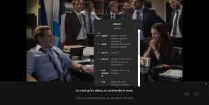 Language Learning with Netflix