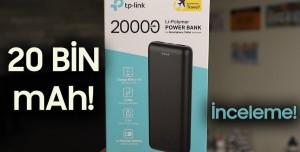 Tp-Link PB2000 PowerBank İnceleme - Neler Sunuyor?