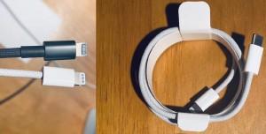 iPhone 12 Şarj Kablosu Görüntülendi, İşte Örgülü USB-C Lightning Kablosu