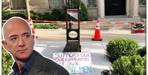 Amazon CEO'su Jeff Bezos'a Giyotinli Protesto!