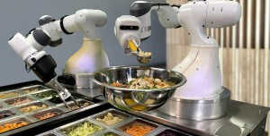 Koronavirüse Karşı Mutfaklarda Aşçı Robot Dönemi