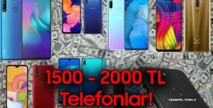 1500-2000 TL Arasında Alınabilecek Akıllı Telefonlar! (Temmuz 2020)
