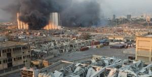 Beyrut'taki Patlama Tarihin En Büyük Patlaması