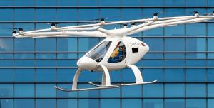 Elektrikli Hava Taksi Volocopter Bilet Satışlarına Başladı