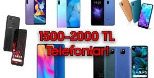 1500-2000 TL Arasında Alınabilecek Akıllı Telefonlar! (Eylül 2020)