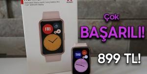 Herkesi Kucaklayan Saat! - Huawei Watch Fit İnceleme