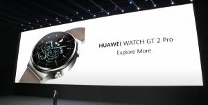Huawei Watch GT 2 Pro Tanıtıldı! İşte Özellikleri ve Fiyatı
