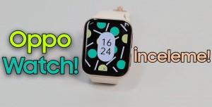Oppo Watch İnceleme - Tasarım İyi Ama?