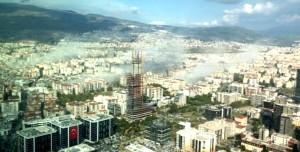 İzmir Depremi Görüntüleri Sarsıntının Boyutunu Gözler Önüne Serdi