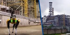 Robot Köpek Radyasyon Tespiti İçin Çernobil'i Geziyor