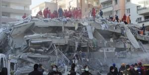 İzmir Depremi Sesi Ortaya Çıktı: Çok Ürkütücü ve Tüyler Ürpertici