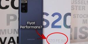 Fiyat Performansta İddialı! - Samsung Galaxy S20 FE Kutu Açılımı