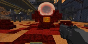 Minecraft ve Doom'u Birleştiren Oyun: Doomed: Demons of the Nether