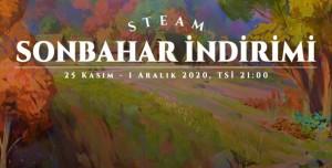 Steam Sonbahar İndirimi Kampanyası Başladı